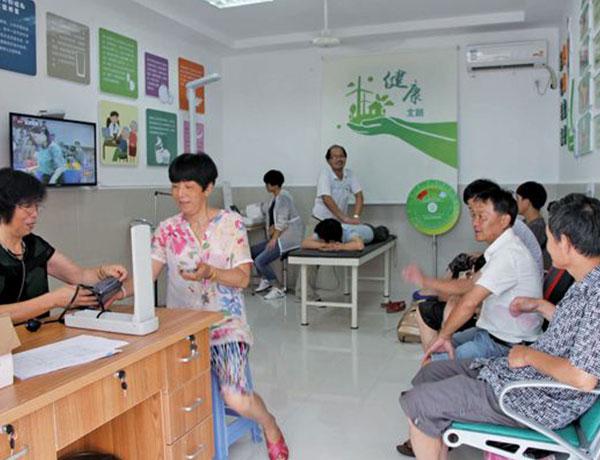 山西太原社区服务中心健康